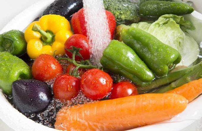 премахване на пестициди от зеленчуците